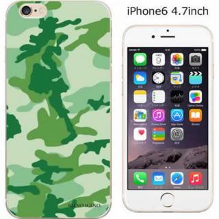 iPhone6 ケース コーディネートカラーハードケース iglno iglno. カモフラージュ/グリーン iPhone 6ケース