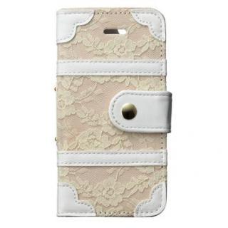 トランクカバー レース iPhone SE/5s/5/5c 手帳型ケース