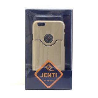 【iPhone6ケース】HinH JENTI カードホルダーケース ゴールド iPhone 6_4