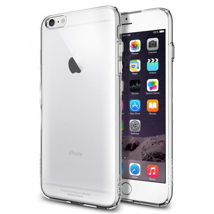 【iPhone6 Plusケース】Spigen カプセル TPUケース クリスタルクリア iPhone 6 Plus_0