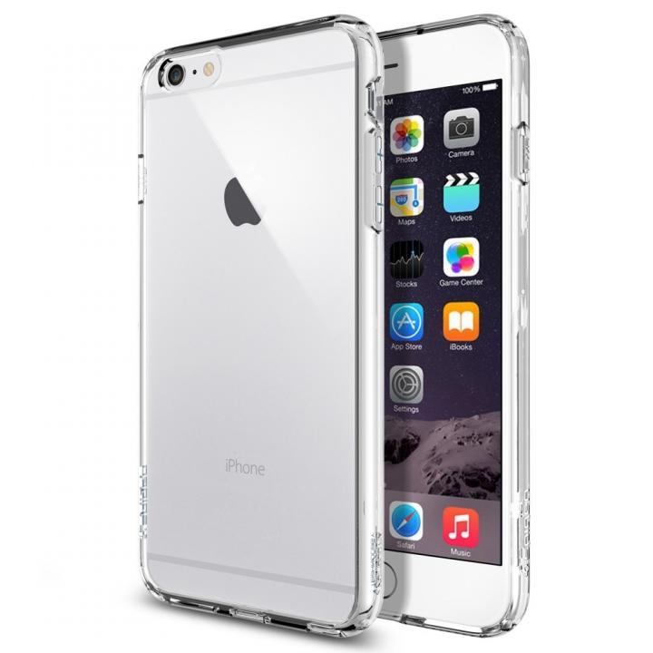 【iPhone6 Plusケース】Spigen ウルトラ・ハイブリッドケース クリスタルクリア iPhone 6 Plus_0