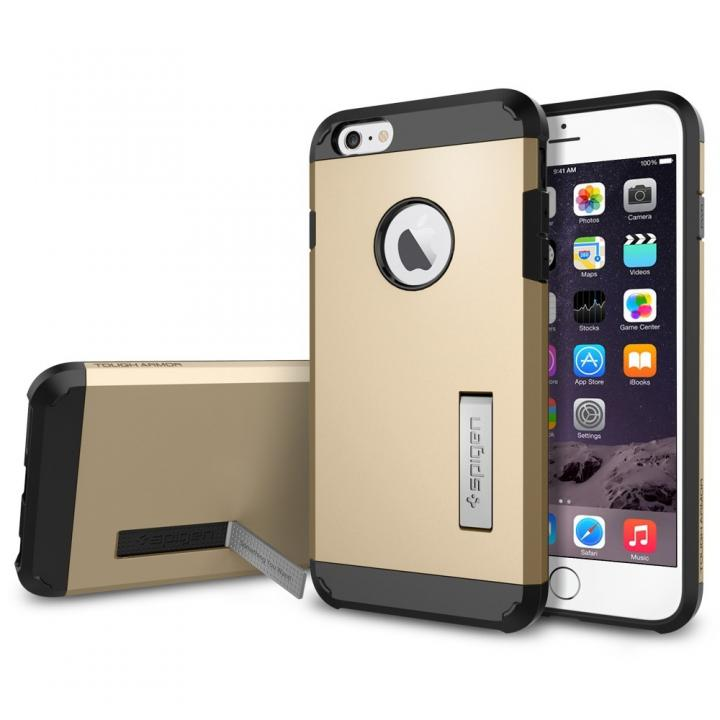 Spigen タフ・アーマーケース シャンパン・ゴールド iPhone 6 Plus