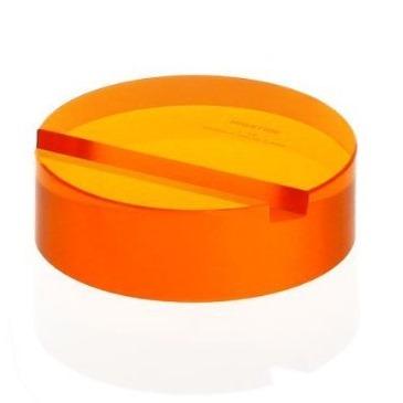 ID001-OR アクリルMスタンドサークル(ATAG) オレンジ_0