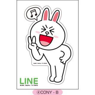 LINE ダイカットステッカー CONY-B