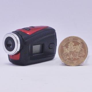超小型防水スポーツデジタルビデオカメラ レッド