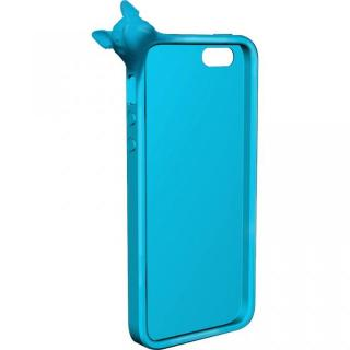 【iPhone SE/5s/5ケース】MyMarkCase iPhone5 フレブル(ライトブルー)