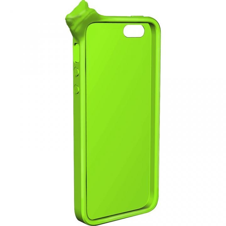 iPhone SE/5s/5 ケース MyMarkCase iPhone5 フロッグ(ライム)_0