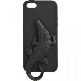 Wild アニマルケース クロコダイル(ブラック) iPhone 5ケース