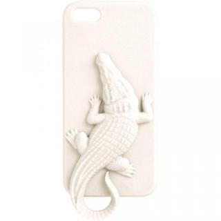 Wild アニマルケース クロコダイル(ホワイト) iPhone 5ケース