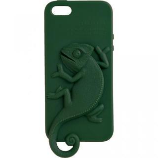 iPhone SE/5s/5 ケース Wild アニマルケース カメレオン(モスグリーン) iPhone 5ケース