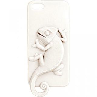 Wild アニマルケース カメレオン(ホワイト) iPhone 5ケース