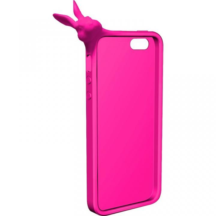 iPhone SE/5s/5 ケース MyMarkCase iPhone5 ラビット(マゼンタ)_0