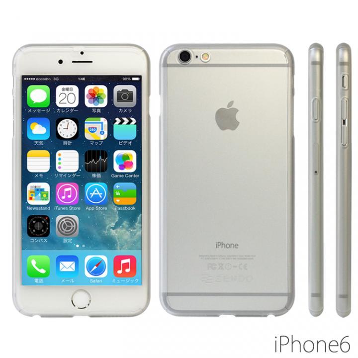 極薄ハードケース ZENDO Nano Skin クリアマット iPhone 6