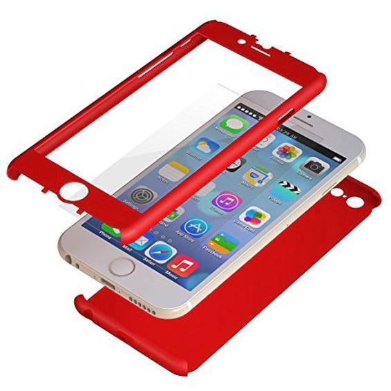 iPhone6 Plus ケース 極薄ハードケース ZENDO Nano Skin レッド iPhone 6 Plus_0