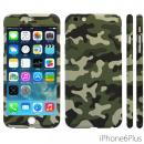 極薄ハードケース ZENDO Nano Skin カモフラージュ グリーン iPhone 6