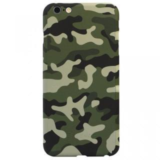 【iPhone6ケース】極薄ハードケース ZENDO Nano Skin カモフラージュ グリーン iPhone 6_1