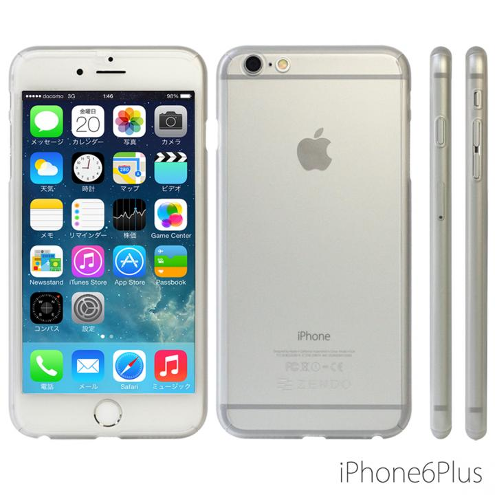iPhone6 Plus ケース 極薄ハードケース ZENDO Nano Skin クリアマット iPhone 6 Plus_0