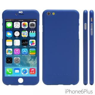 極薄ハードケース ZENDO Nano Skin ブルー iPhone 6 Plus