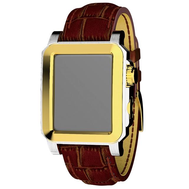 CorVin Premium Accessories Apple Watch  42mm CV3000 レザー/ゴールド_0
