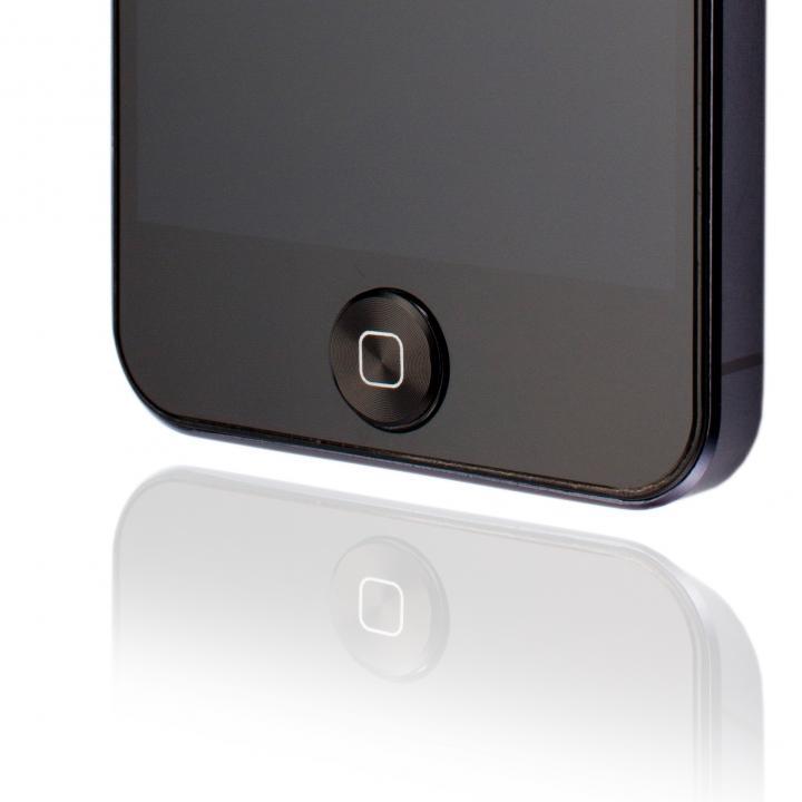 GRAMAS Home Button Sticker  Apple B ブラック