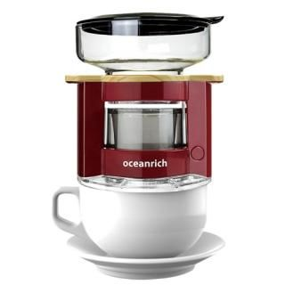 oceanrich 自動ドリップ・コーヒーメーカー UQ-CR8200RD レッド【12月下旬】