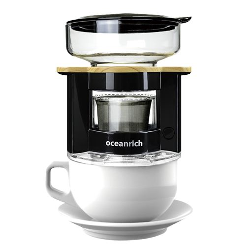 oceanrich 自動ドリップ・コーヒーメーカー UQ-CR8200BL ブラック【10月下旬】_0