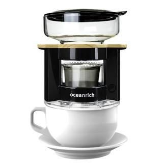 oceanrich 自動ドリップ・コーヒーメーカー UQ-CR8200BL ブラック【3月上旬】