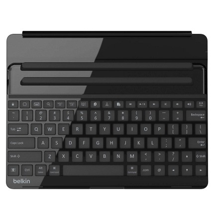 iPad対応FastFitキーボードカバー シルバー