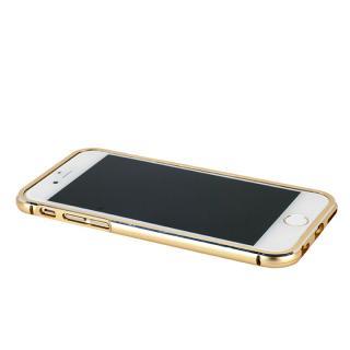 【iPhone6ケース】マグネットアルミバンパー ゴールド iPhone 6_1