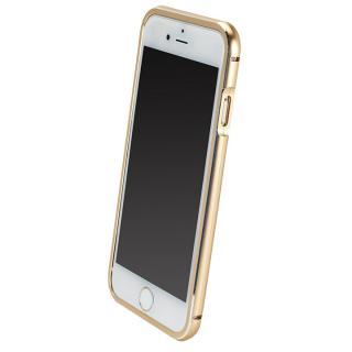 【iPhone6ケース】マグネットアルミバンパー ゴールド iPhone 6_2