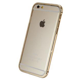 【iPhone6ケース】マグネットアルミバンパー ゴールド iPhone 6_3