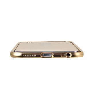 【iPhone6ケース】マグネットアルミバンパー ゴールド iPhone 6_4