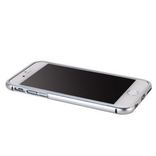 【iPhone6ケース】マグネットアルミバンパー シルバー iPhone 6_1