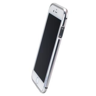 【iPhone6ケース】マグネットアルミバンパー シルバー iPhone 6_2