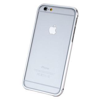 【iPhone6ケース】マグネットアルミバンパー シルバー iPhone 6_3