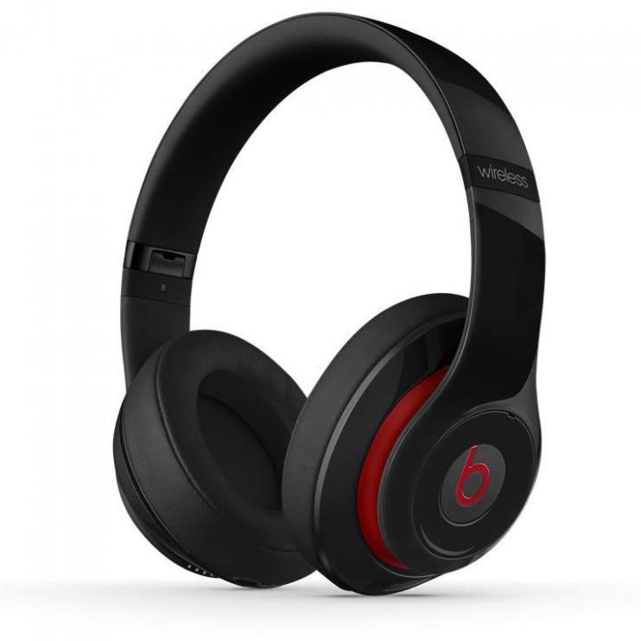 Beats Studio ワイヤレスオーバーイヤーヘッドフォン - ブラック