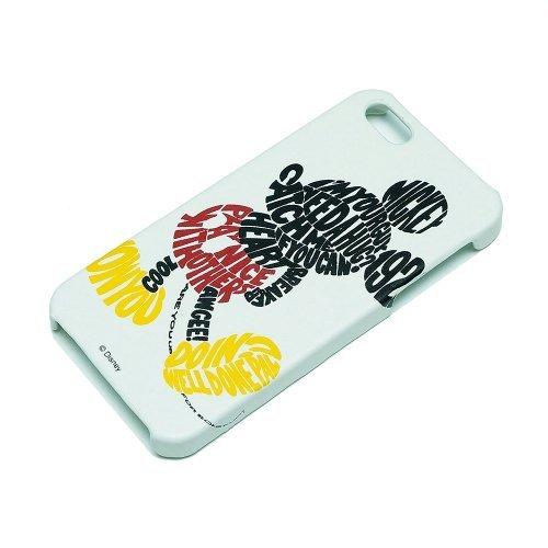 iPhone SE/5s/5 ディズニー iPhone 5用レザーケース ミッキー_0