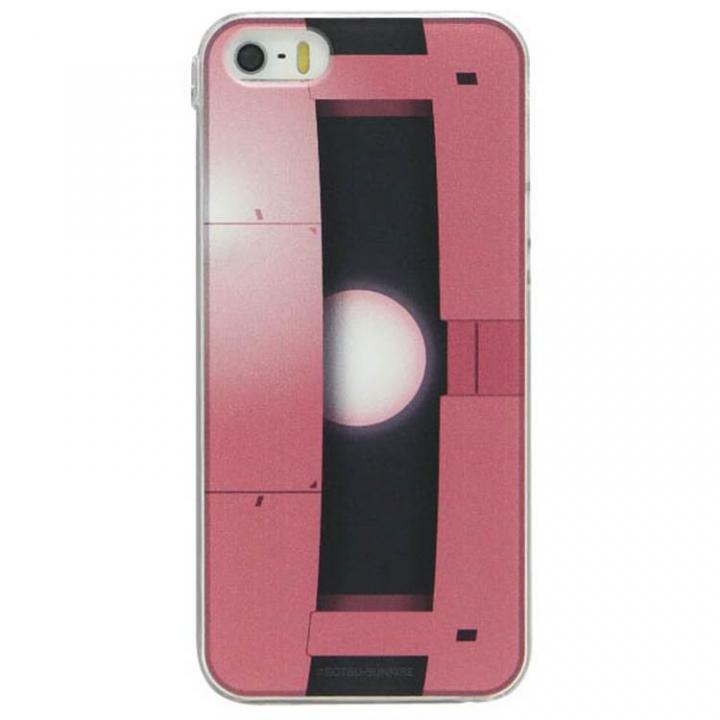 iPhone SE/5s/5 ケース 機動戦士ガンダム キャラクターケース シャア専用ザク・モノアイ iPhone SE/5s/5ケース_0