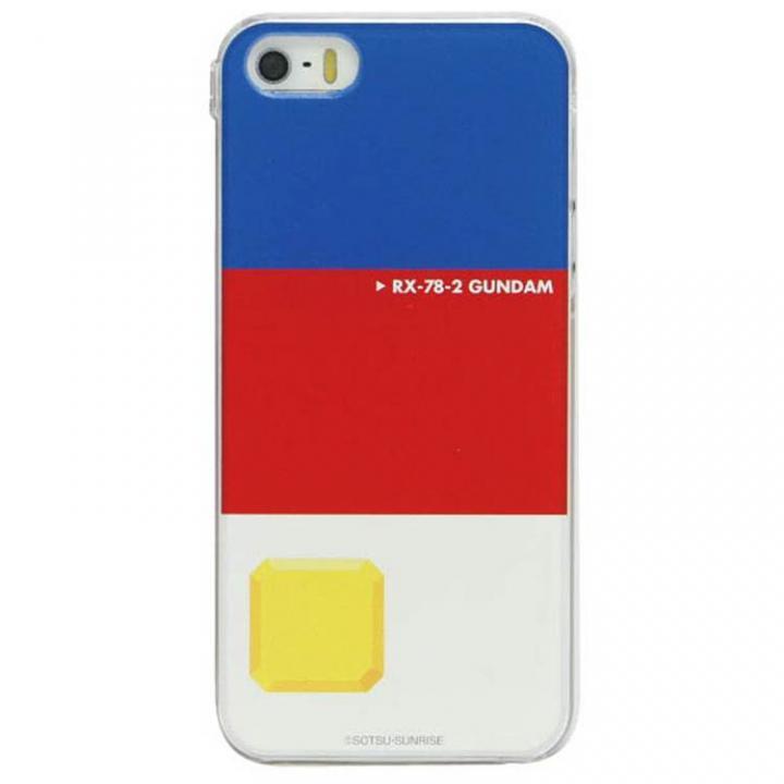【iPhone SE/5s/5ケース】機動戦士ガンダム キャラクターケース ガンダム iPhone SE/5s/5ケース_0