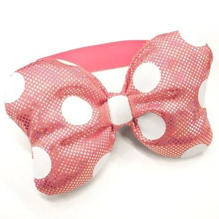 ディズニー スマートフォン用 リボンバンド ミニーマウス(ピンク)_0
