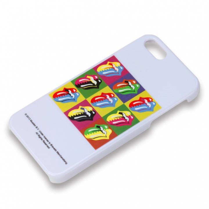 iPhone SE/5s/5 ケース iPhone 5 アーティストケース ストーンズ ホワイト_0