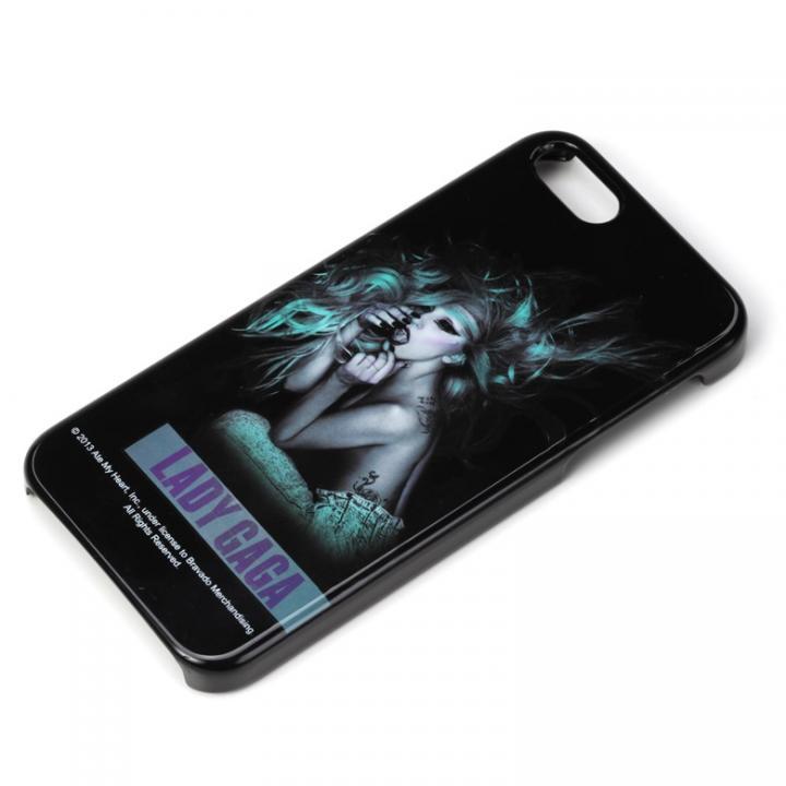 【iPhone SE/5s/5ケース】iPhone SE/5s/5 アーティストケース レディガガ ホワイト_0