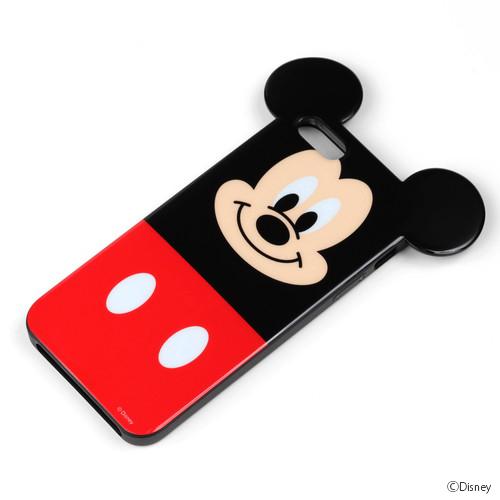 ディズニー iPhone 5用ダイカットTPUケース ミッキー