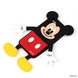 ディズニー iPhone 5用ダイカットシリコンケース ミッキー