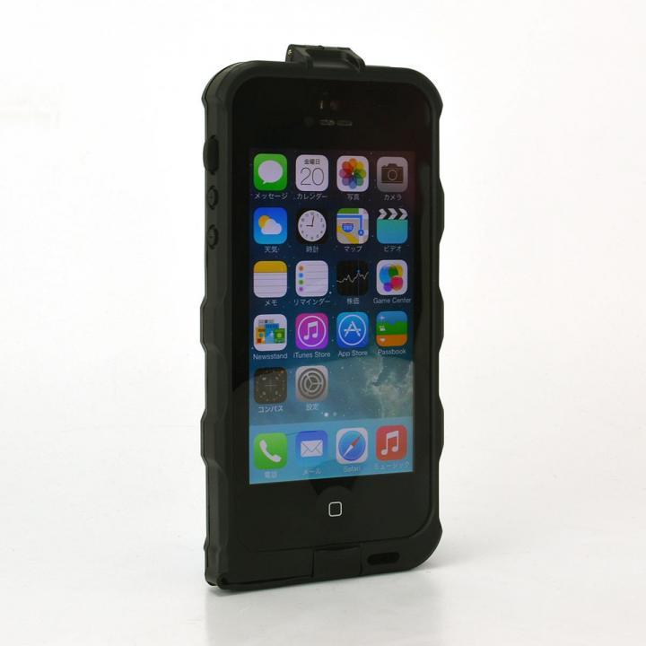 ICカード収納可能 防水・防塵ケース 電磁波干渉防止シートつき iPhone SE/5s/5ケース