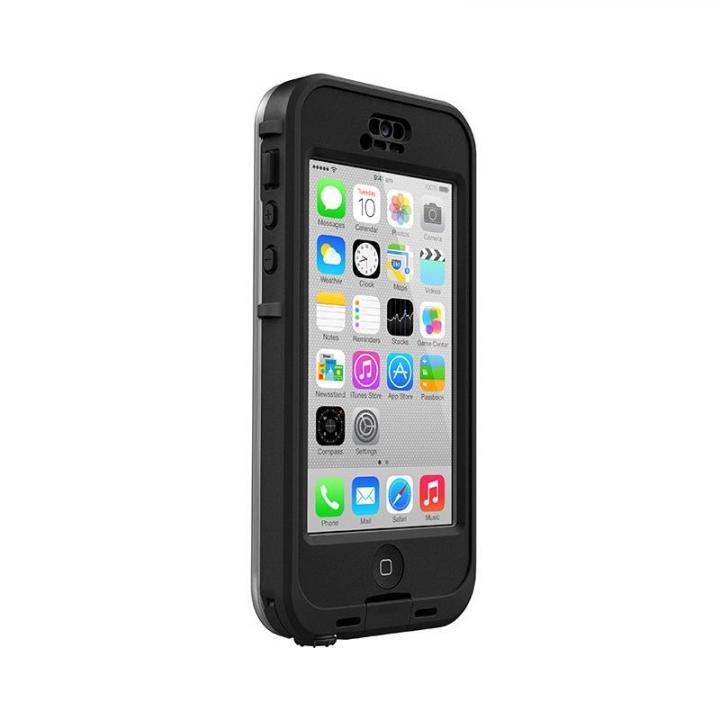 【LifeProof】 iPhone5c nuud(液晶画面に直接さわれるタイプ) ブラック