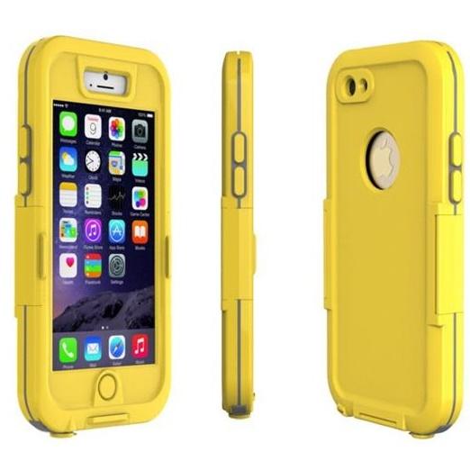 iVOG 防水防塵ケース イエロー iPhone 6s/6