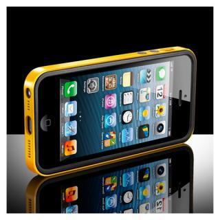 【iPhone SE/5s/5ケース】iPhone SE/5s/5ケース ネオ・ハイブリッド EX ビビッドシリーズ [レベントン・イエロー]_1