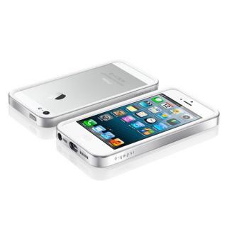 【iPhone SE/5s/5ケース】iPhone SE/5s/5 ケース ネオ・ハイブリッド EX メタルシリーズ [サテン・シルバー]_1