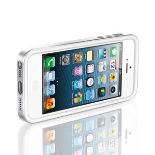 【iPhone SE/5s/5ケース】iPhone SE/5s/5 ケース ネオ・ハイブリッド EX メタルシリーズ [サテン・シルバー]_2